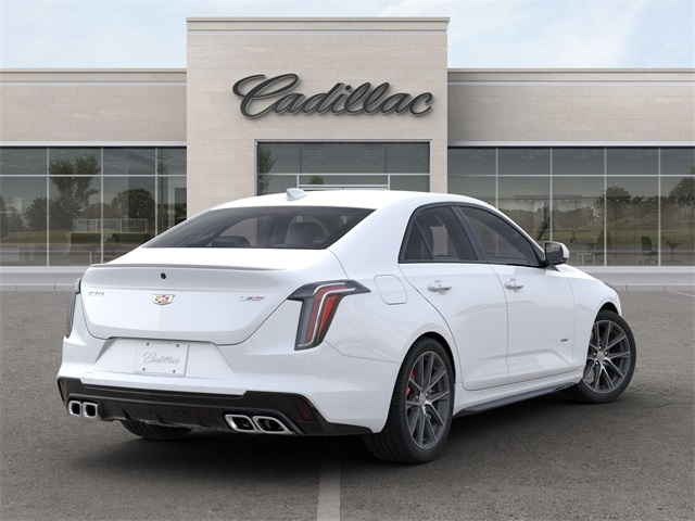 new 2020 cadillac ct4 v-series 4d sedan in midland #m02694